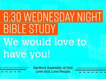 Bible Study Facebook Screen Alternative