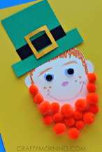 pom-pom-leprechaun-craft-for-kids-st-patricks-day-