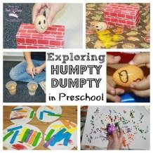 Humpty Dumpty Collage