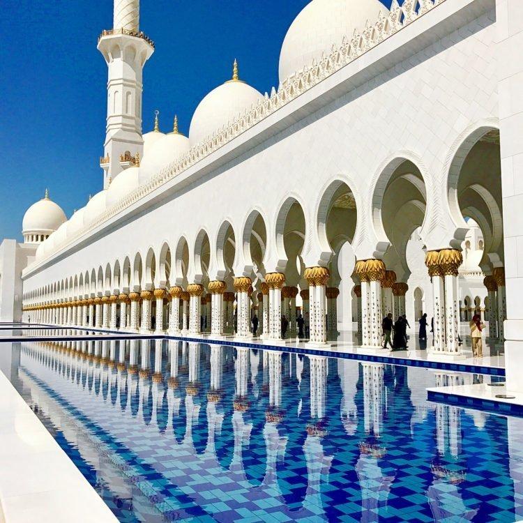 Abu Dubai mosque