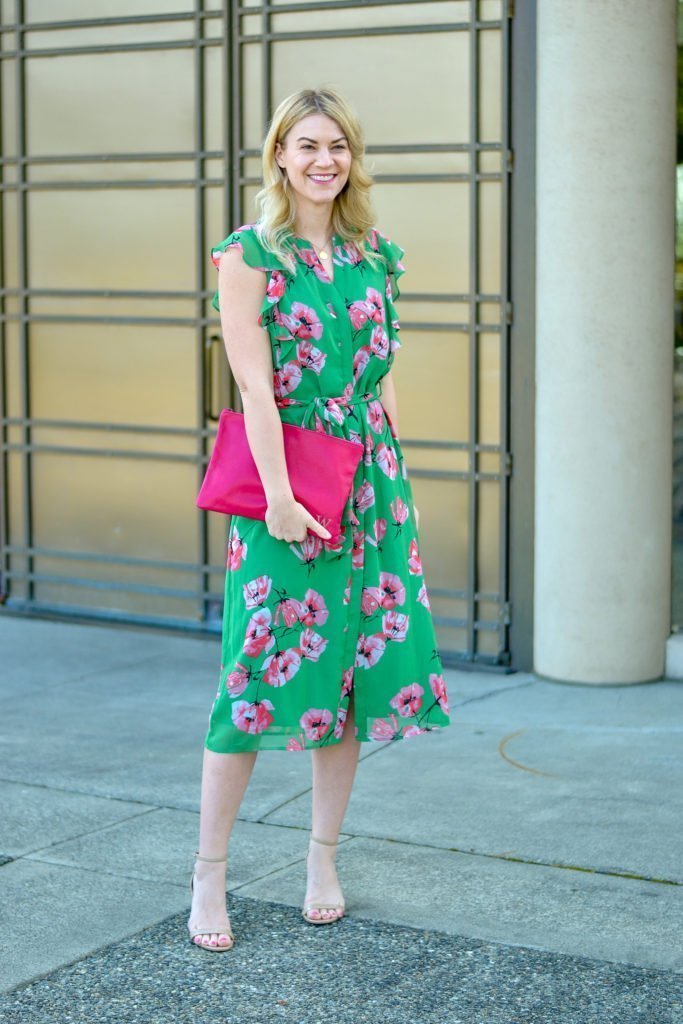 floral dress who what wear collection