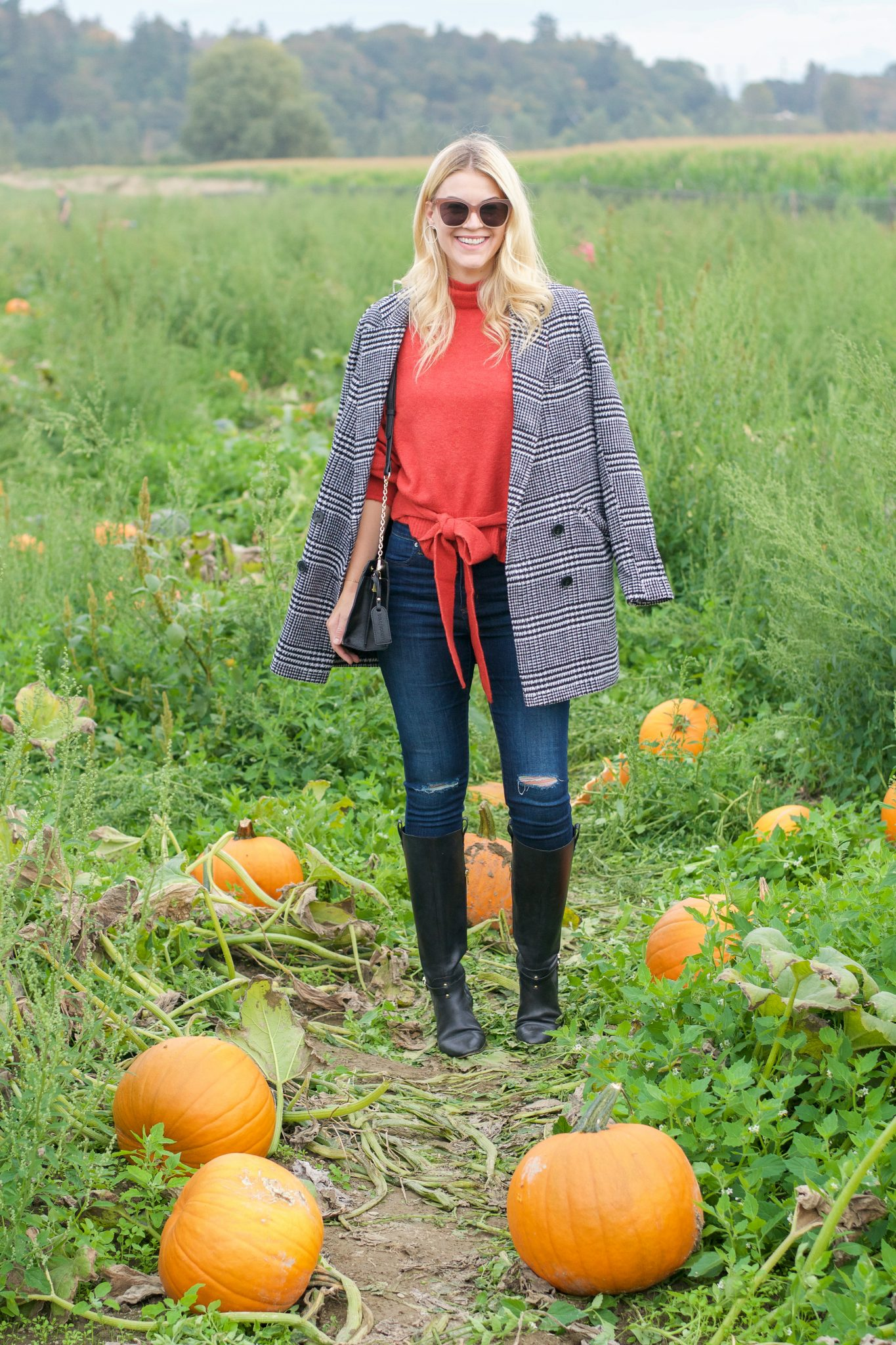 What I Wore To The Pumpkin Patch