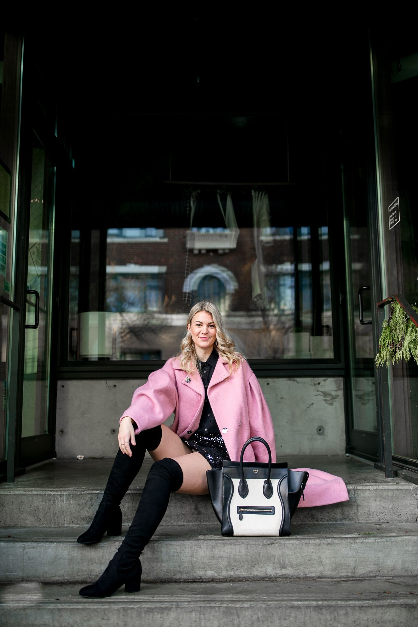 Pretty in Pink with Celine