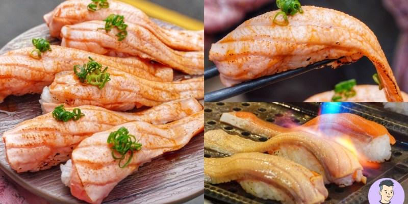 【台南美食】達也濱家漁場 早上九點就開的日料!隱身水仙宮市場的炙燒鮭魚腹握壽司 肥嫩嫩油香超逼人