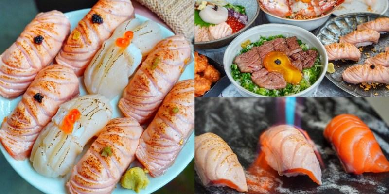 【台南美食】IG超火紅排隊日式料理「金禾kimho 」剛開就客滿!炙燒鮭魚/天使紅蝦丼飯超好吃 中西區美食