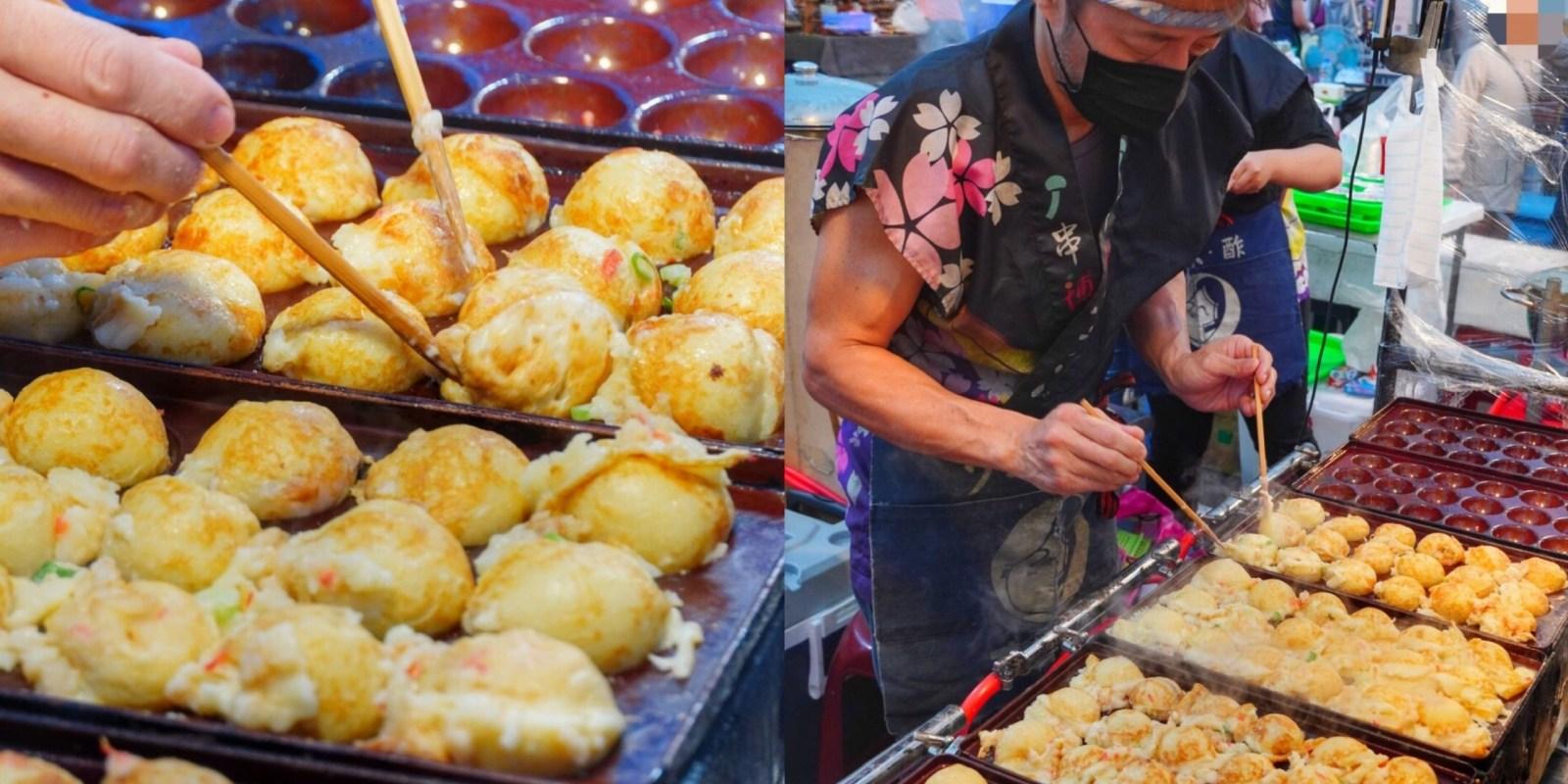 免出國在台南夜市【串博ふうりん章魚燒】就能吃到正宗日本大阪「爆漿章魚燒」日本職人精神|大東夜市
