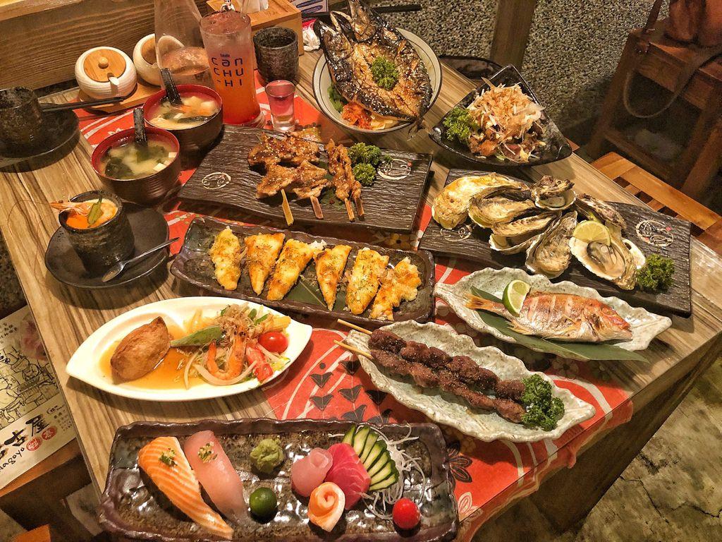 [新竹 ‧ 東區]名古屋料亭599無菜單吃到飽 隱藏巷弄日式居酒屋@小白只饗ㄔ新竹 | 癡吃的玩