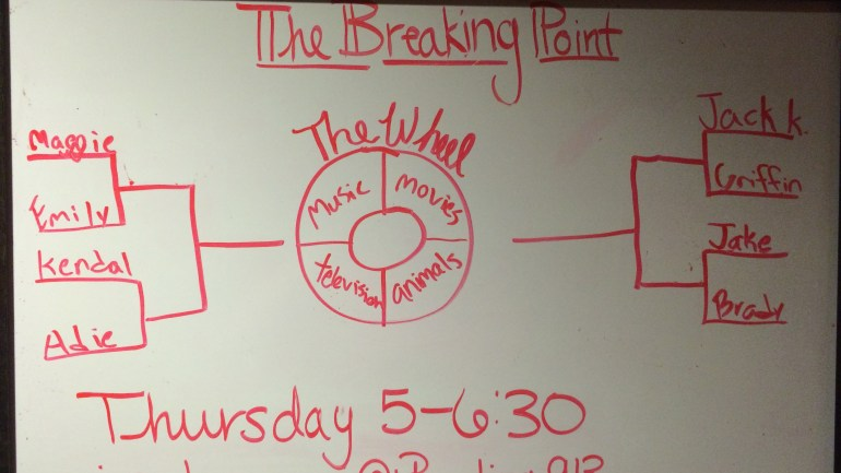 Breaking Point: Round 1