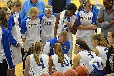 Carmel Girls Varsity Basketball: Game 3 vs. Cathedral