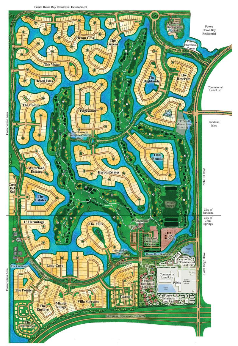 Parkland Florida Map : parkland, florida, Communities