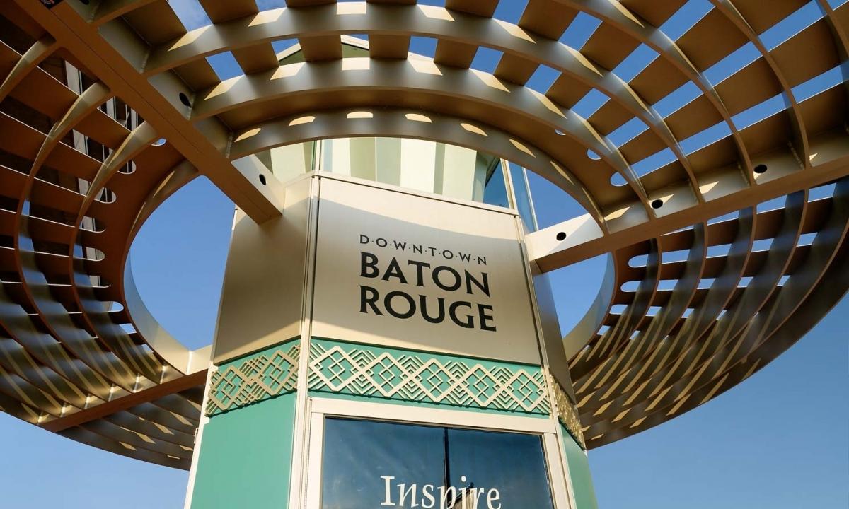 Downtown Baton Rouge Wayfinding Signage Whlc Architecture