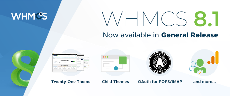 WHMCS 8.1 Now Available