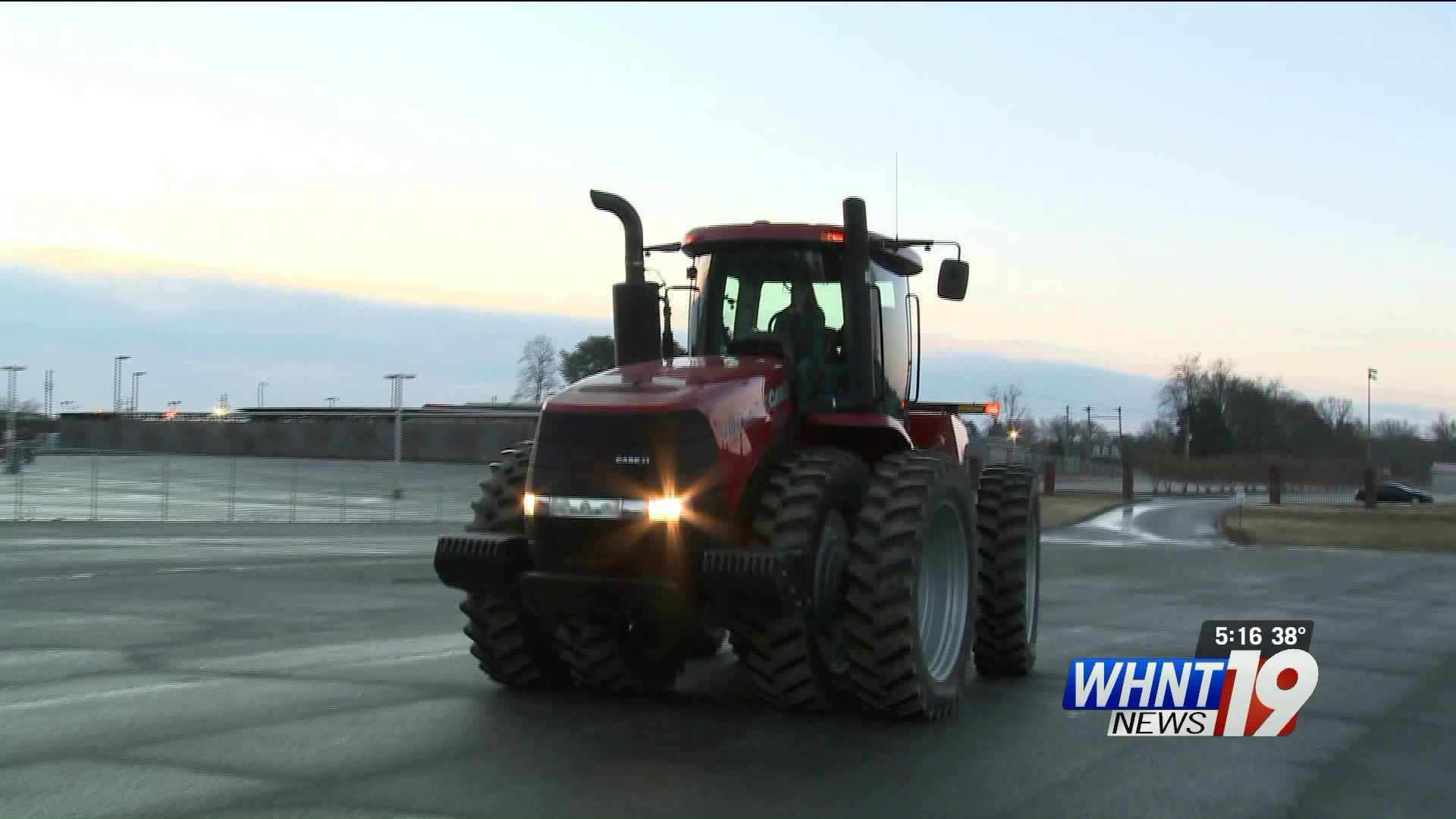 Students at Lincoln County High School will get to school a little differently Friday morning.
