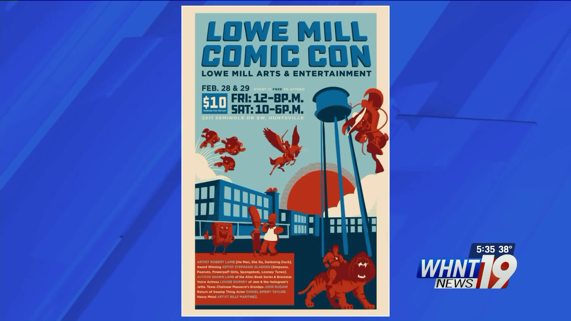 The convention for comic and pop culture fans will spread through the former cotton mill that now houses artists, studios, and vendors.