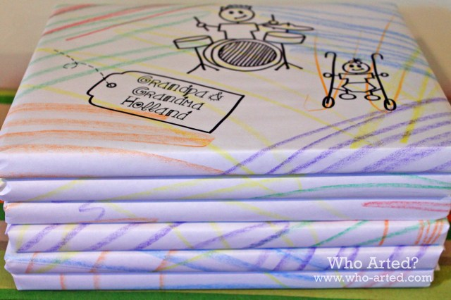 Grandparents Day Wrapping Paper 03