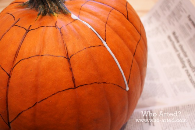 Spider Web Pumpkin 04