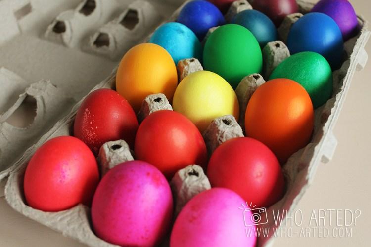 Cascarones Glitter Eggs Who Arted 08