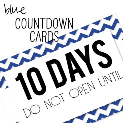 Birthday Countdown Cards Mini Blue Who Arted Template Thumbnail