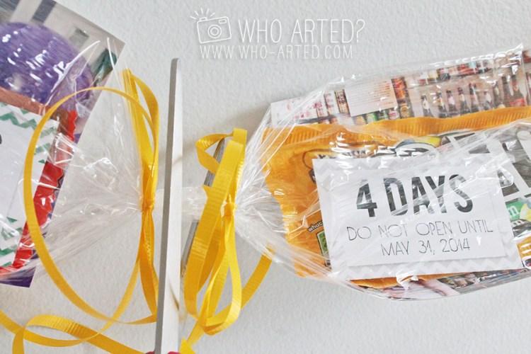 Birthday Garland Countdown Who Arted 12