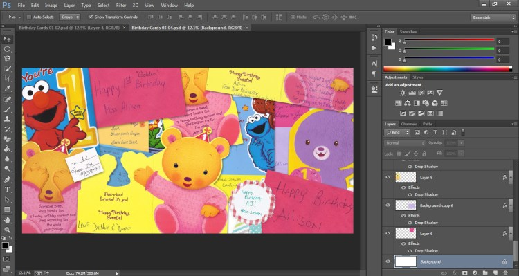 How to Scan Cards into Scrapbook Who Arted 18
