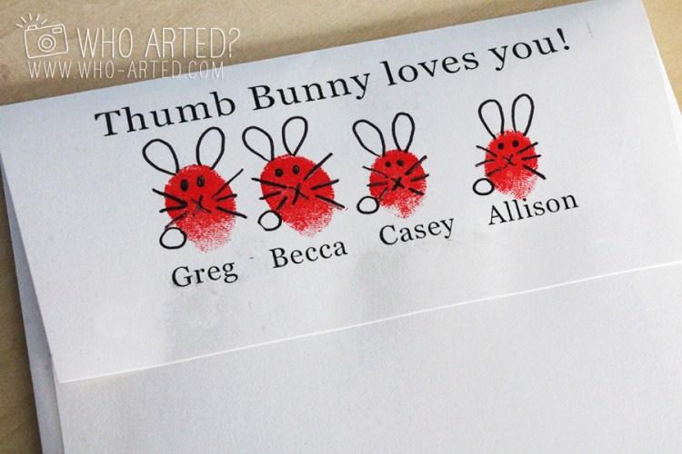 Easter Cards Easter Envelopes Who Arted 01