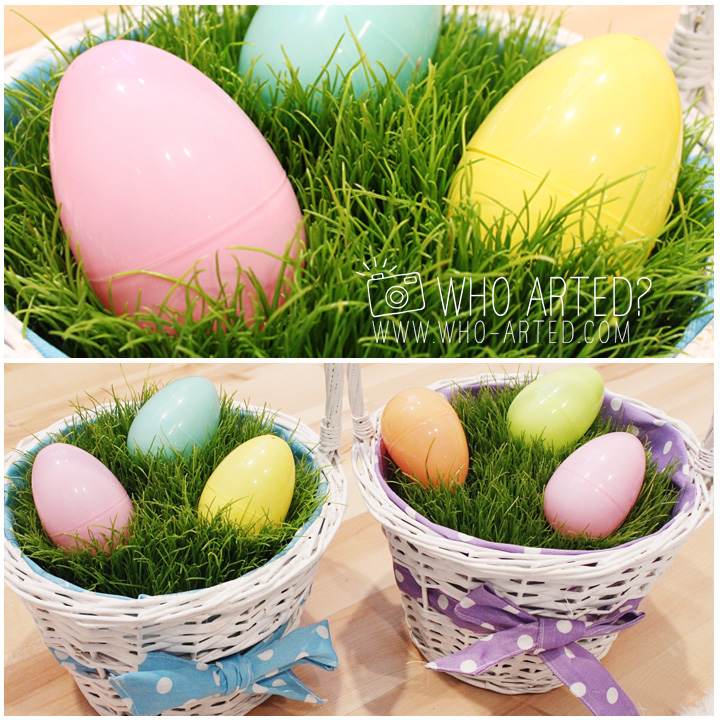 Easter Basket Grass Who Arted Facebook
