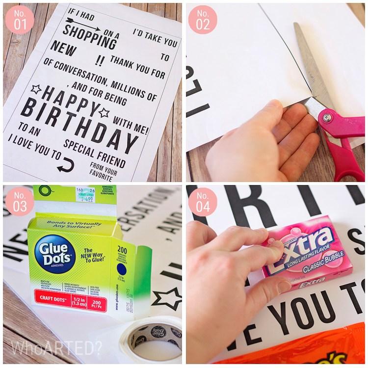Candy Gram Birthday Card 1 06