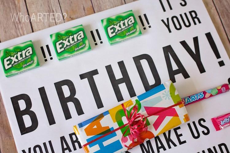 Candy Gram Birthday Card 2 02