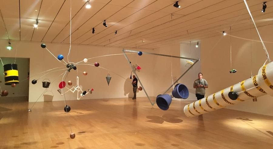 Rainforest V acuellement exposée au MAC Lyon pour la Biennale d'Art Contemporain de Lyon
