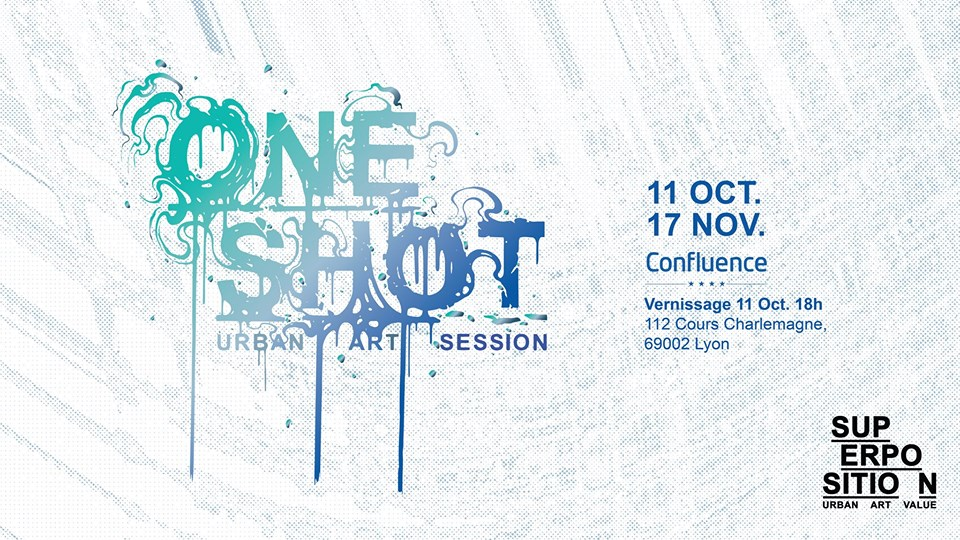 One shot, exposition de street art à Lyon Confluence