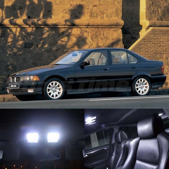 17x White Interior Led Lights Combo For Bmw E36 328i 325i