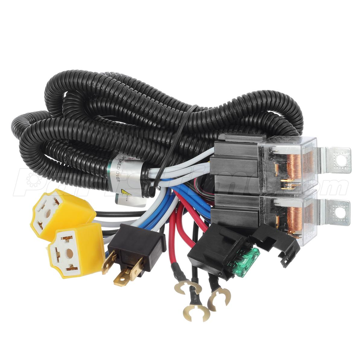 hight resolution of conversion kit wiring diagram on h4 led headlight bulb wiring h4 headlight relay wiring harness 2