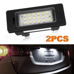 Bmw X5 E70 Tail Light Wiring Diagram Central Air 2x Error Free For E39 E60 E90 M5 18 3528 Smd Led
