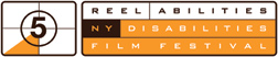 ReelAbilities Disability Film Festival New York 5 logo