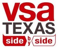 VSA Texas side by side filmmakers logo