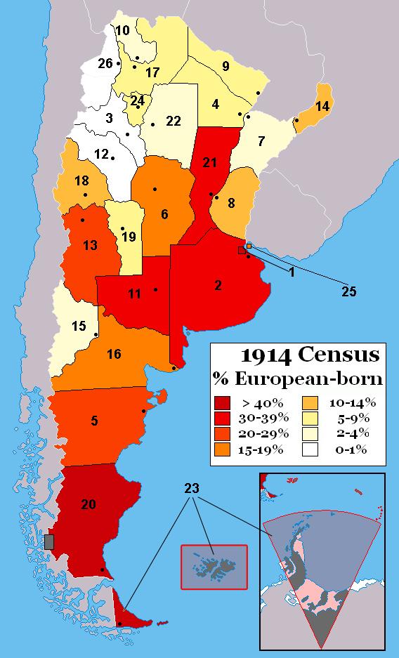 European DNA in Argentina?