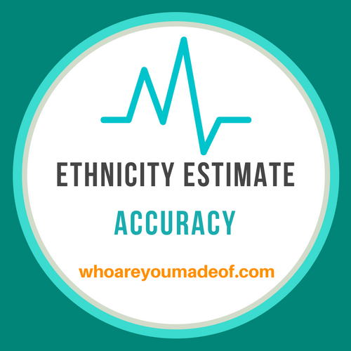 Ethnicity Estimate Accuracy: The Truth - Who are You Made Of?