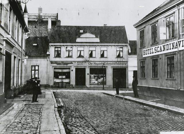 What was Scandinavia like when immigrants left the region last century?