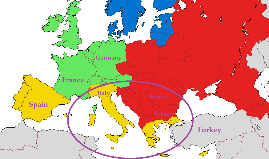 Europe South DNA Ethnicity on Ancestry - Who are You Made Of?