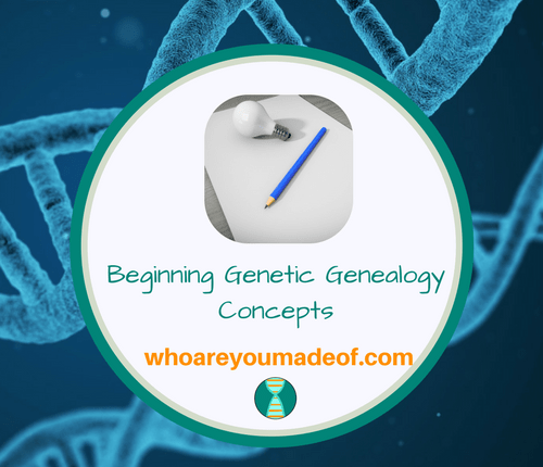 Beginning Genetic Genealogy Concepts