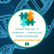 Phased Matches on Gedmatch:  Paternal and Maternal Matches
