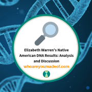 Elizabeth Warren's Native American DNA Results: Analysis and Discussion