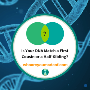 Is Your DNA Match a First Cousin or a Half-Sibling?