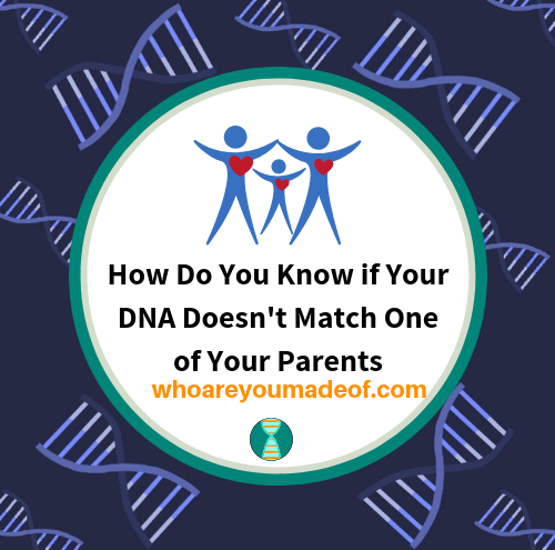 How Do You Know if Your DNA Doesn't Match One of Your Parents