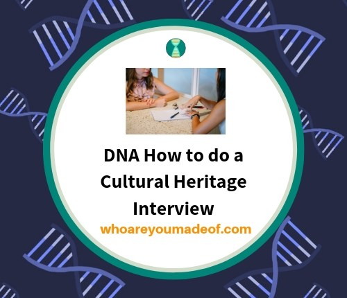 How to do a Cultural Heritage Interview