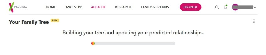 how to set up family tree on 23andme