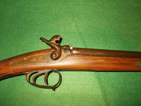 William Henry Oakley And Sons Militaria. V1 Percussion Shotgun