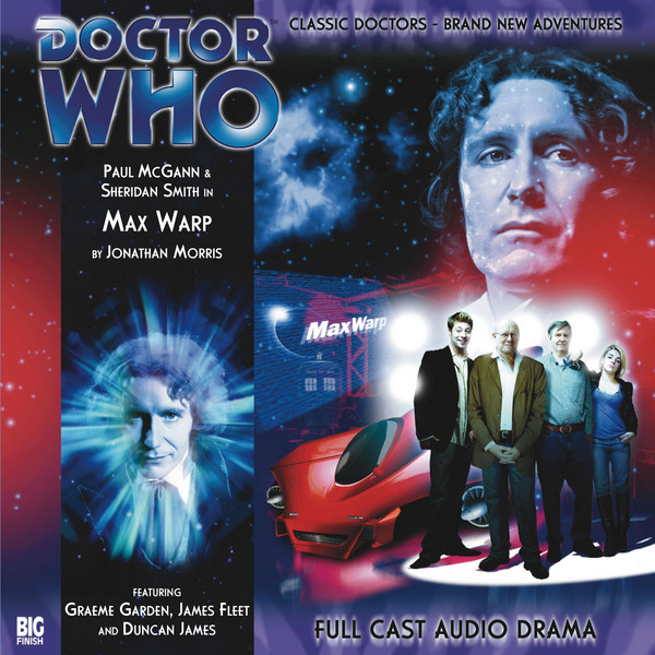 A008 Max Warp Doctor Who audiobook by Big Finish