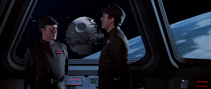 Kenneth Colley in Star Wars (the good trilogy) as Admiral Piett