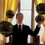 john simm the master with toclafane in the sound of drums doctor who back when